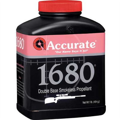 Accurate 1680 Powders Accurate 1680 8 Lb Model 749101691-749101690-5547 U.S.A. & Canada