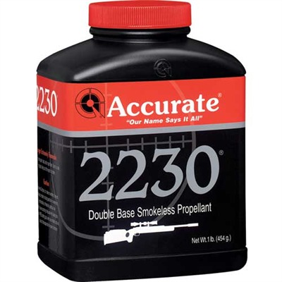 Accurate 2230 Powders Accurate 2230 8 Lb Model 749101693-749101692-5547 U.S.A. & Canada