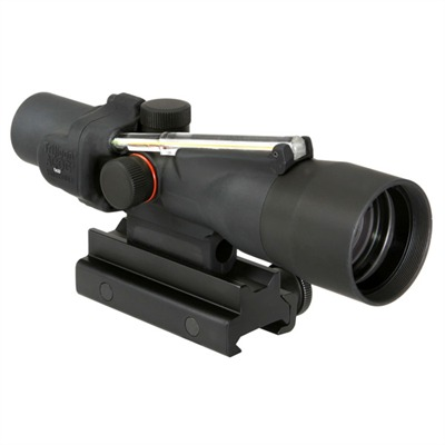 Trijicon Acog 3x30mm Rifle Scopes Acog 3x30 Dual Illum Green Crosshair 300 Blk Reticle U.S.A. & Canada