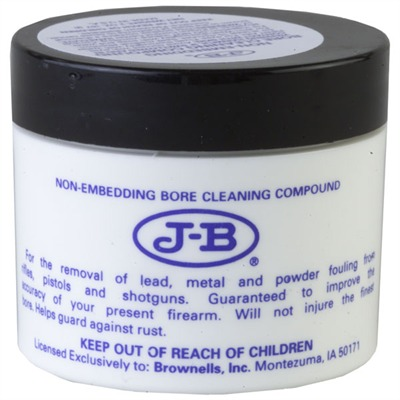J-B® Non-Embedding Bore Cleaning Compound - J-B Bore Cleaning Compound, 2 Oz.