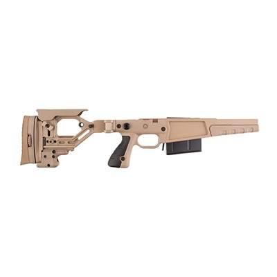 Remington 700 .338 Lapua Aics Ax Chassis - Rem 700 .338 Lapua Ax Stage 2 Chassia, Pale Brown