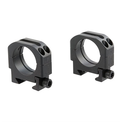 Picatinny Scope Rings - 30mm Standard Rings