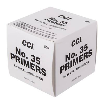 Military Rifle Primers - No.35 .50 Bmg Rifle Primers 500/Box