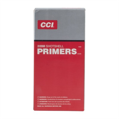 Cci Shotshell Primers - 209m Magnum Shotshell Primers 1,000/Box
