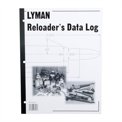 Lyman Reloaders Log Book - Reloaders Log