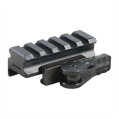 Ar-15/M16 Razor Red Dot Riser Mount - Ar-15 Riser Mount W/ Quick Release Lever
