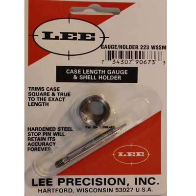 Lee Case Length Gauges Lee Length Gauge/ Shellholder 223 Wssm U.S.A. & Canada