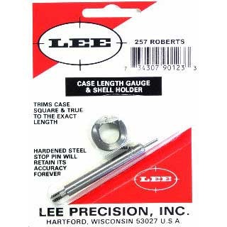 Lee Case Length Gauges Lee Length Gauge/ Shellholder 257 Roberts U.S.A. & Canada