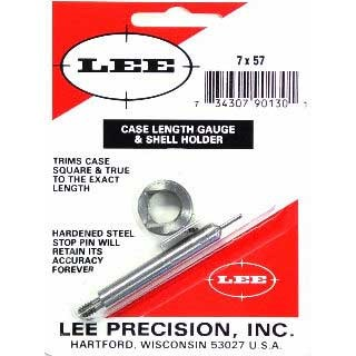 Lee Case Length Gauges Lee Length Gauge/ Shellholder 7x57 Mauser U.S.A. & Canada