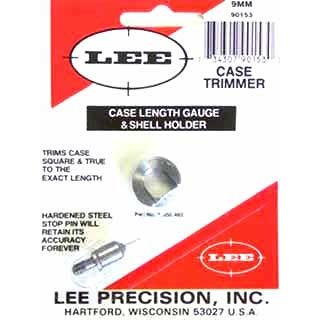 Lee Case Length Gauges Lee Length Gauge/ Shellholder 9mm Luger U.S.A. & Canada