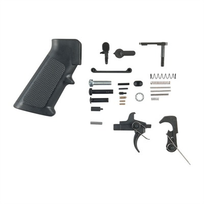 Ar-15 Alg Trigger With Lower Parts Kit - Qms Trigger W/ Lower Parts Kit