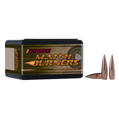 Bulletproof Barnes Bullet Samples - 22cal  69gr Match Burner Bc339