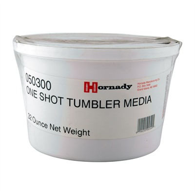 Hornady Tumbling Media - Horndy One Shot Corn Cob Tumbling Media 1/4 Gallon Tub