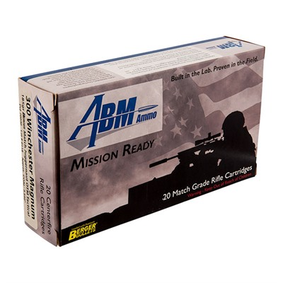 Mission Ready Tactical Ammo - .308 Win 175gr Berger Match Otm Tactical 20/Box