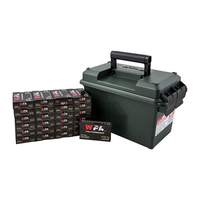 500 Round .223 Rem Ammo Can - Wolf .223 Rem 55gr Hp 500 Rnd Ammo Can