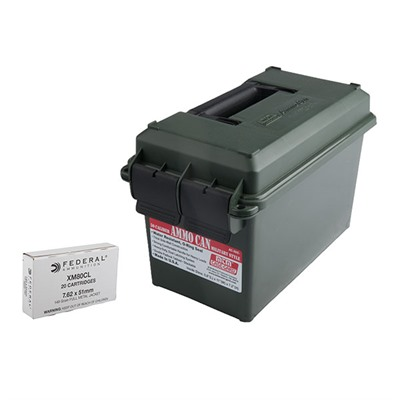 Xm80 Ammo Cans - Xm80 7.62x51mm (308 Win) 149gr Fmj 400-Rd Ammo Can