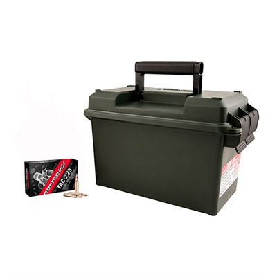 Tac Rifle Ammo Cans - Tac-223 .223 Rem 55gr Fmj 500-Rd Ammo Can