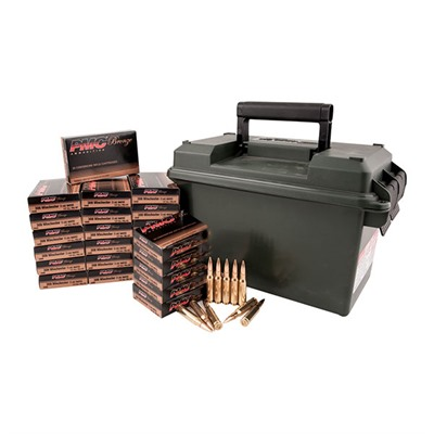 Pmc Bronze Ammo Cans - Bronze 9mm Luger 124gr Fmj 500 Rnd Ammo Can