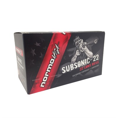 22 Long Rifle Subsonic 40gr Lead Hp - Subsonic 22lr 40gr Lhp 500rd Brick