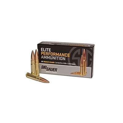 Elite Performance Match Grade Ammo - Sig Match Ammo .300 Blackout 220gr Otm Subsonic 20/Box
