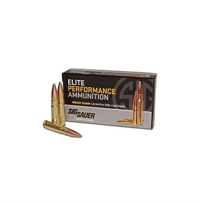 Elite Performance Match Grade Ammo - Sig Match Ammo .300 Blackout 220gr Otm Subsonic 500/Case