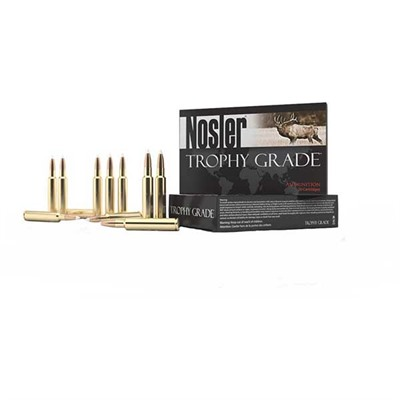 Trophy Grade Ammunition - Trophy Grade .26 Nosler 140gr Accubond 20/Box
