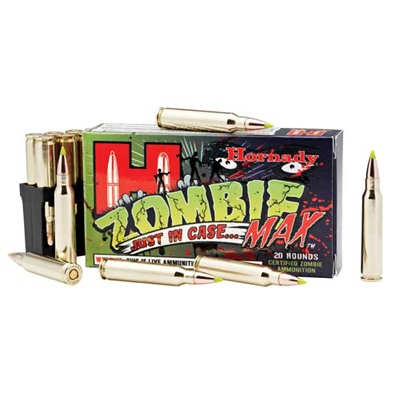Zombie Max Ammo 223 Remington 55gr Z-Max - 223 Remington 55gr Z-Max 20/Box