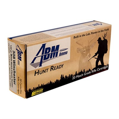 Hunt Ready Ammo 308 Winchester 168gr Berger Classic Hunter - .308 Win 168gr Berger Match Classic Hun