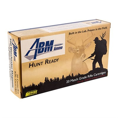 Hunt Ready Ammo 300 Win Mag 185gr Berger Classic Hunter - 300 Winchester Magnum 185gr Match Classic