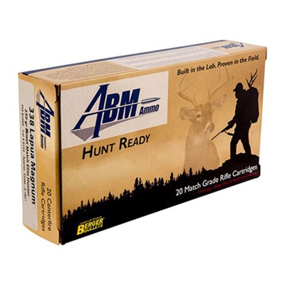 Hunt Ready Ammo 338 Lapua Magnum 250gr Berger Elite Hunter - 338 Lapua Magnum 250gr Match Elite Hunt