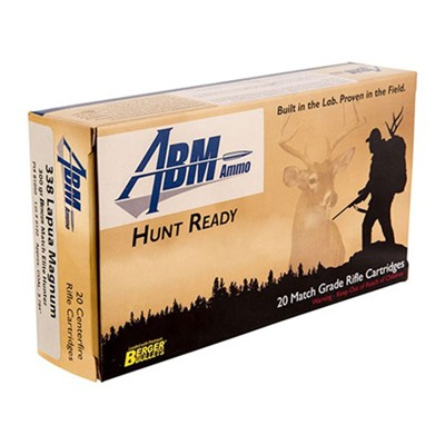 Hunt Ready Ammo 338 Lapua Magnum 300gr Berger Elite Hunter - 338 Lapua Magnum 300gr Match Elite Hunt