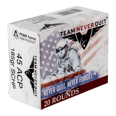 Self Defense Pistol Ammo - Solid Copper Hp .45 Acp 185gr 20/Box