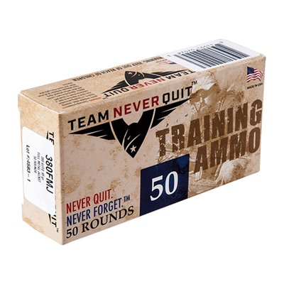 Pistol Training Ammo - Training Ammo .380 Auto 95gr Fmj 50/Box