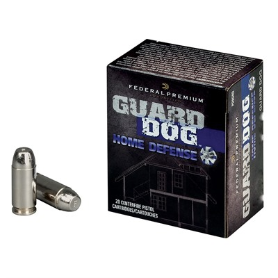 Guard Dog Ammo - 45 Acp 165gr Guard Dog Fmj 20/Box