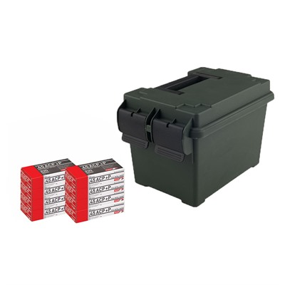 Pistol Ammo Cans - 45 Acp 230gr Fmj 400/Can