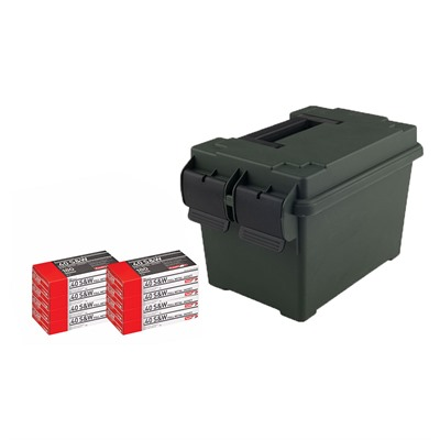 Pistol Ammo Cans - 40 S&W 180gr Fmj 400/Can