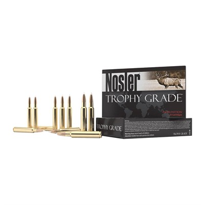 Trophy Grade Ammo 338 Remington Ultra Magnum 250gr Accubond - 338 Remington Ultra Mag 250gr Accubond