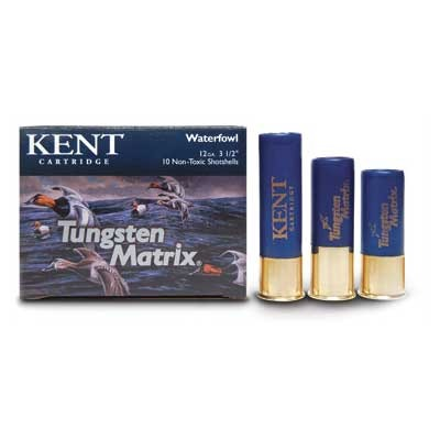 Kent Tungsten Matrix Waterfowl Ammunition - 20 Gauge 2-3/4'''' 1 Oz #6 Shot 10/Box