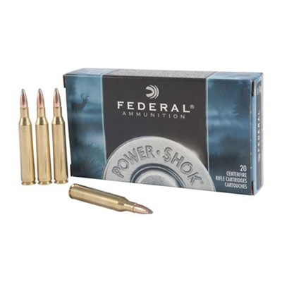 Power-Shok Ammo 25-06 Remington 117gr Sp - 25-06 Remington 117gr Soft Point 20/Box