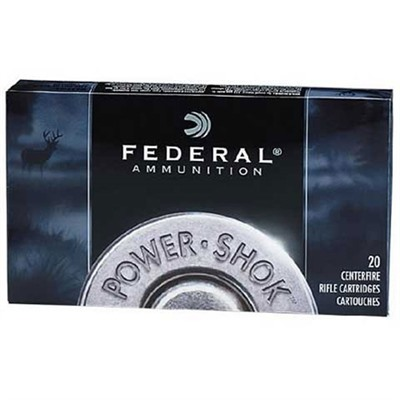 Power-Shok Soft Point Ammunition - Federal Ammo 308 Win 180gr Hi-Shok Sp 20/Bx