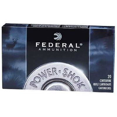Power-Shok Soft Point Round Nose - Federal Ammo 30 Carbine 110gr Hishksprn 20/Bx