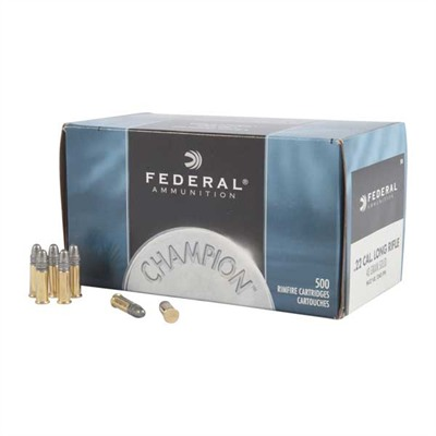 Federal Champion Solid Rimfire Ammunition - Federal Ammo 22lr Hv