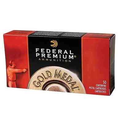 Gold Medal Match Ammo 22 Long Rifle 40gr Solid - 22 Long Rifle 40gr Solid Gold Medal 50/Box