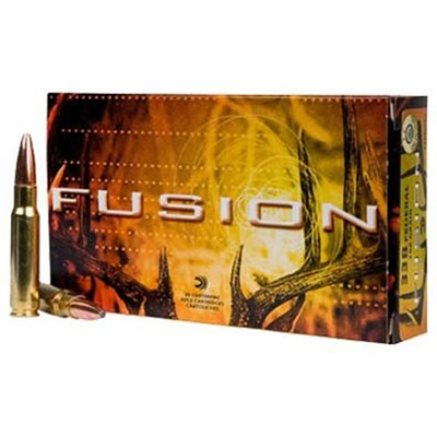 Fusion Ammo 338 Federal 200gr Bonded Bt - 338 Federal 200gr Bonded Bt 20/Box