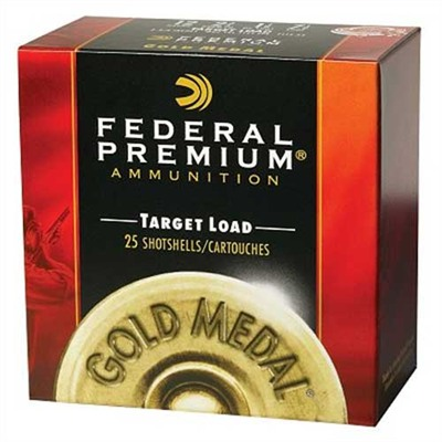 Gold Medal Ammo 12 Gauge 2-3/4'''' 1 Oz #8 Shot - 12 Gauge 2-3/4'''' 1 Oz #8 Shot 25/Box