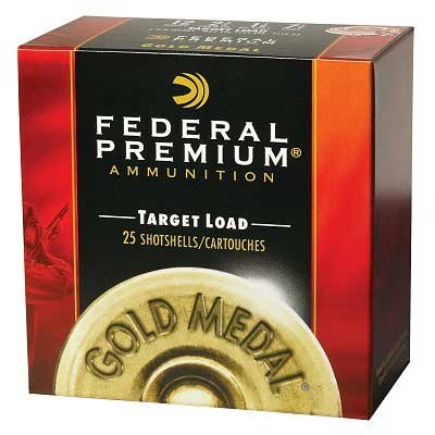 Premium Gold Medal Paper Ammunition - Federal Shells 8 Gold Medal Paper 12ga 2 3/4    1 1/8oz