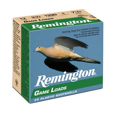 Remington Game Loads - Game Loads 12ga 2-3/4'''' 1oz #8 Shot 25/Box