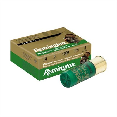 Remington Highvelocity Magnum Copperplated Buffered Turkey Rem Ammo 28022 #4 12ga Premier High Vel Mag Turkey Load 10bx U.S.A. & Canada