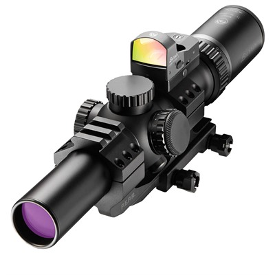 Mtac Rifle Scopes - 1-4x24mm Rfp Ballistic Ar W/Fastfire Iii