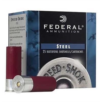 Federal Speed Shok Waterfowl Ammunition Federal Ammo 12ga Speed Shok 275 1oz #6 25bx U.S.A. & Canada